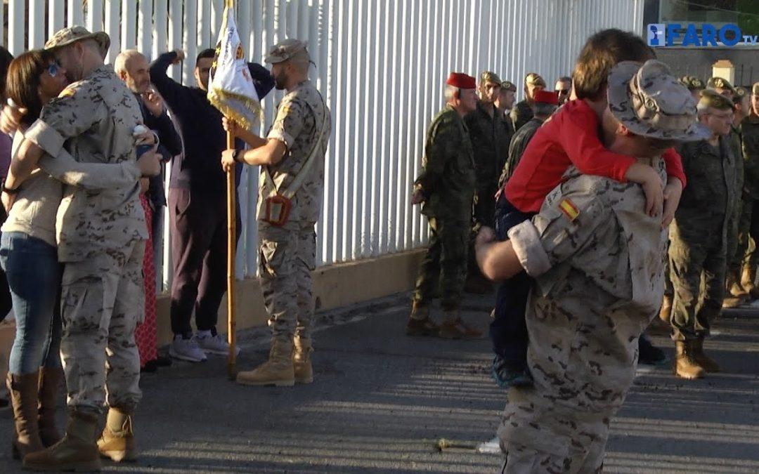 Despedida oficial al contingente Regular que parte a Mali