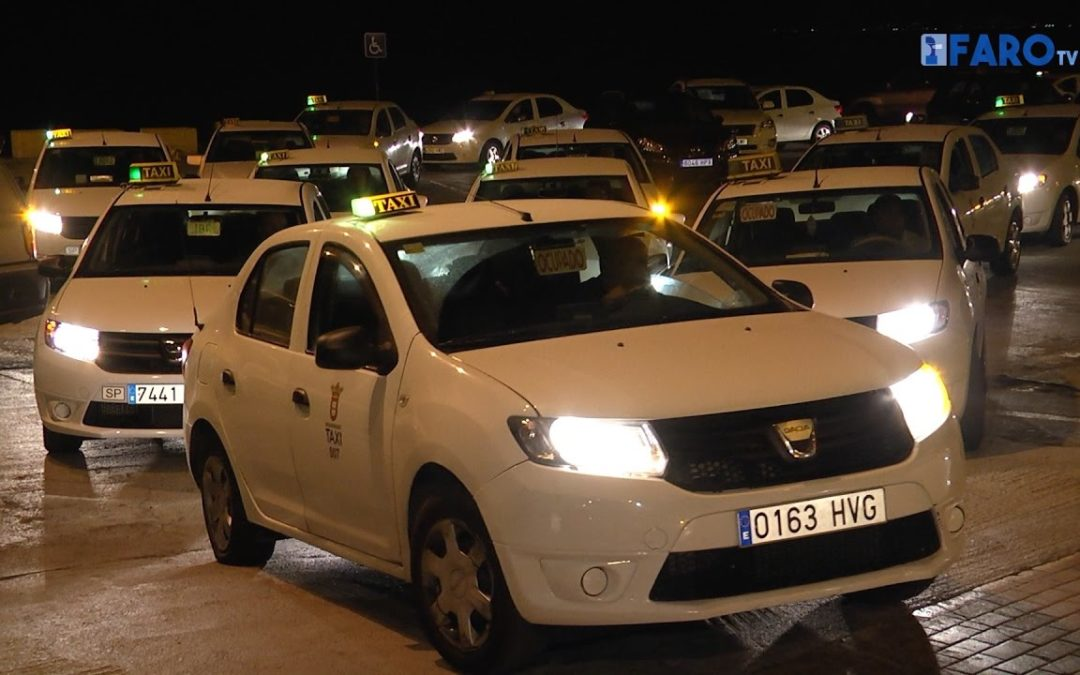 Paro de los taxistas por las colas en la frontera