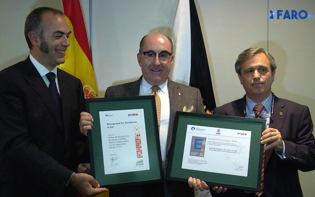 CESMA recibe el Sello de Excelencia Europeo EFQM 400+