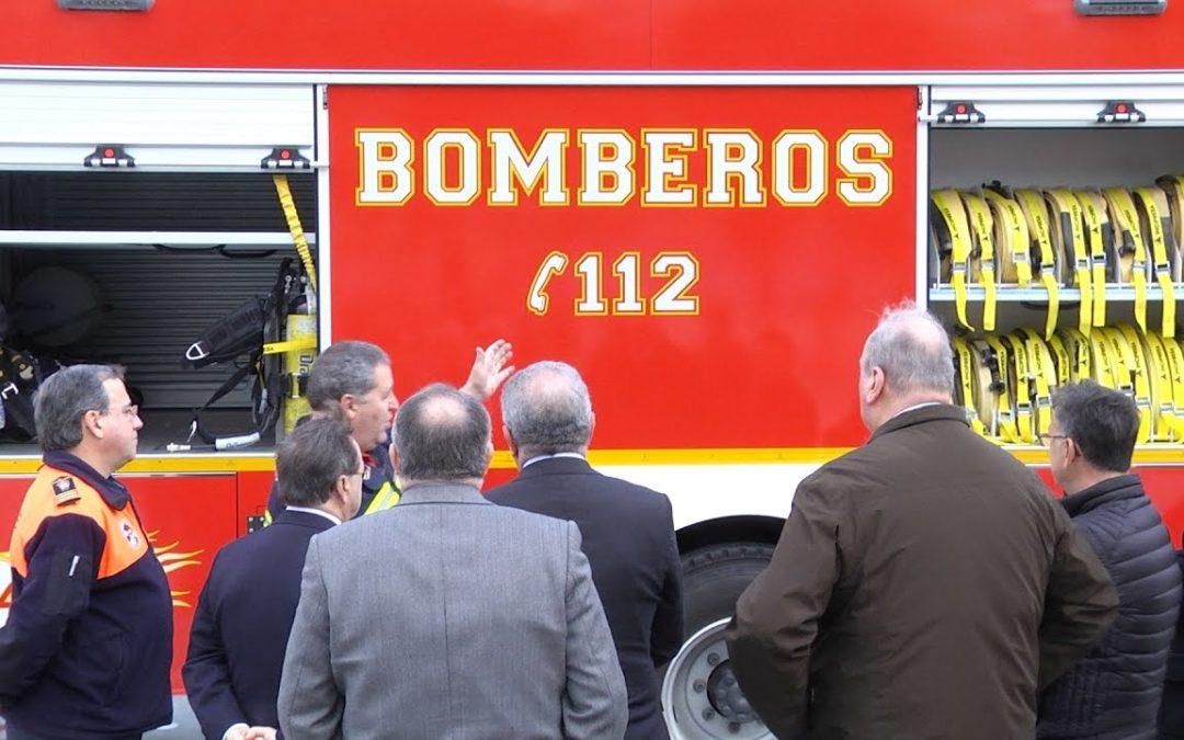 Presentados los nuevos vehículos de Bomberos