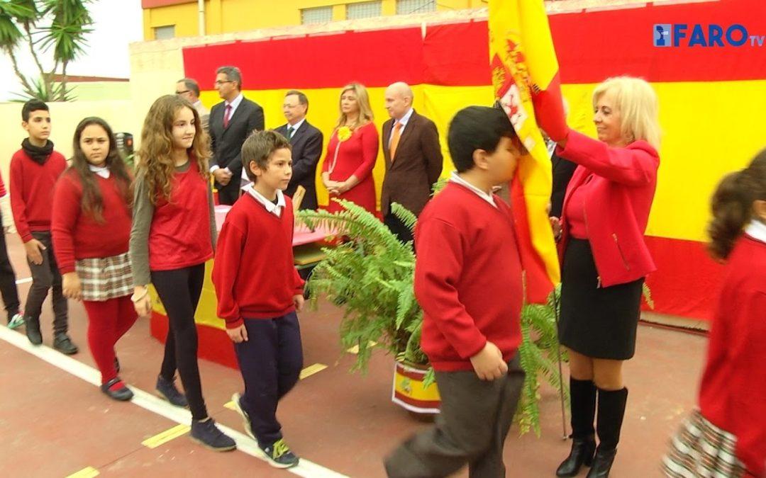 Jura de Bandera Escolar en el 'Rosalía de Castro'