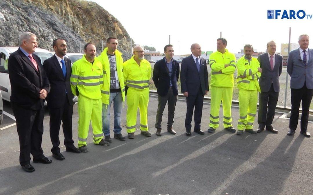 El delegado del Gobierno ha visitado las instalaciones del Centro de Conservación de Carreteras