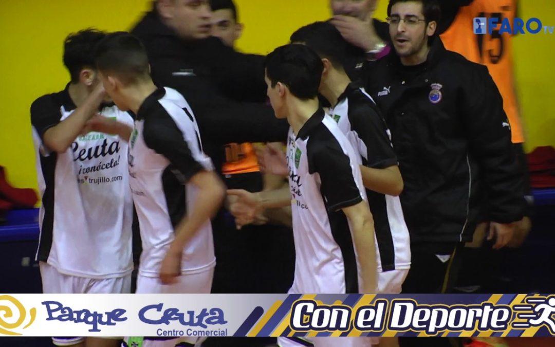 Ceuta pierde en su debut ante Castilla La Mancha y Murcia gana su segundo encuentro