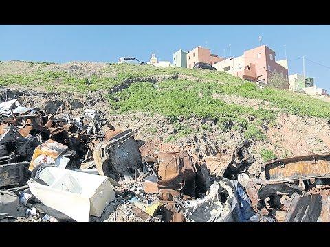 El PSOE exige responsabilidades sobre los residuos de Arcos Quebrados
