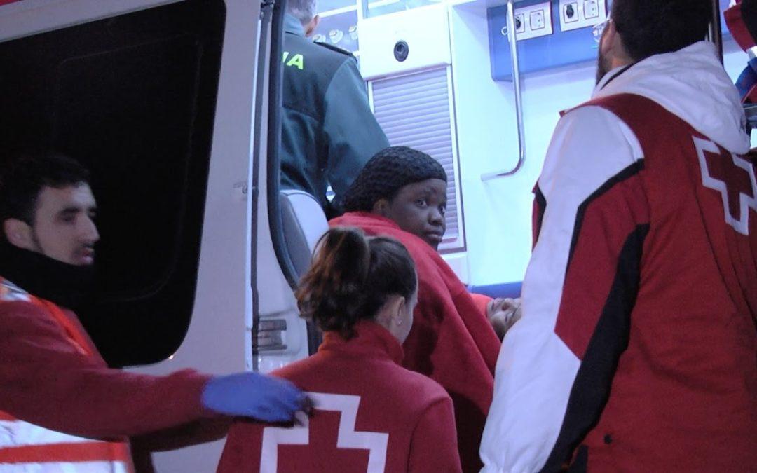 Rescate: naufragio en el Estrecho con un fallecido