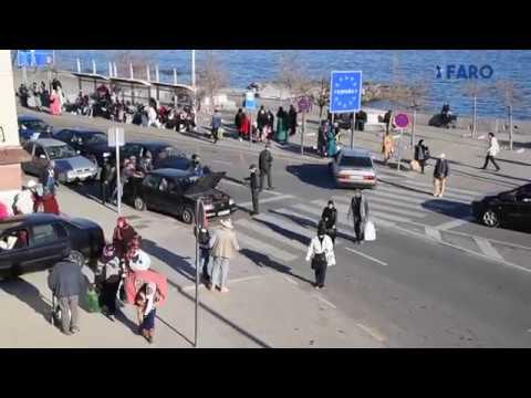 Tráfico hacia la frontera: peor es posible
