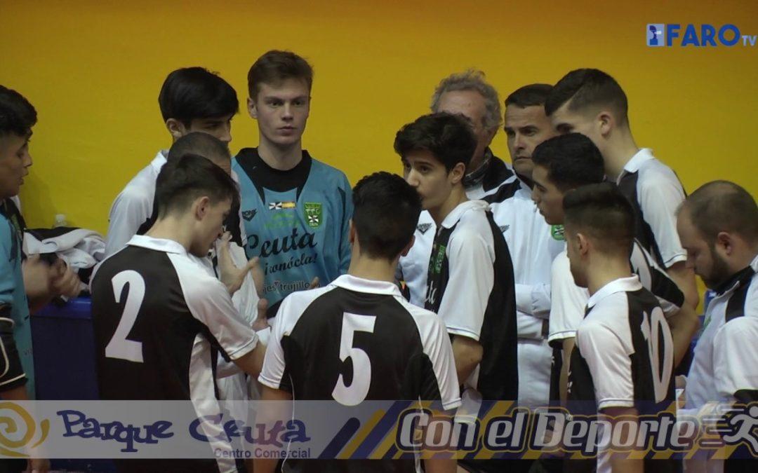 Ceuta consigue su primera victoria en el Nacional
