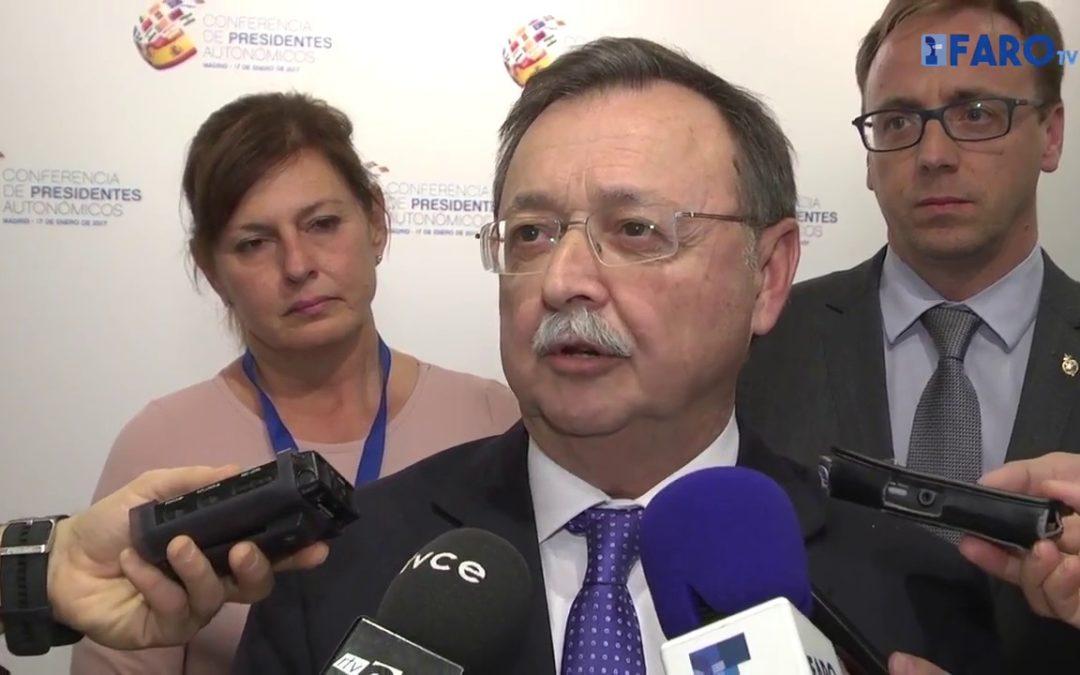 Declaraciones del presidente Juan Vivas tras la Conferencia de Presidentes