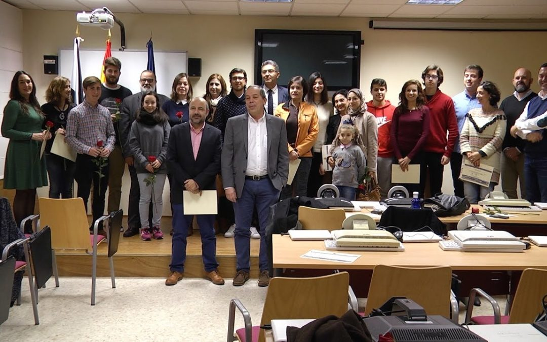 Entrega de los premios locales de ortografía