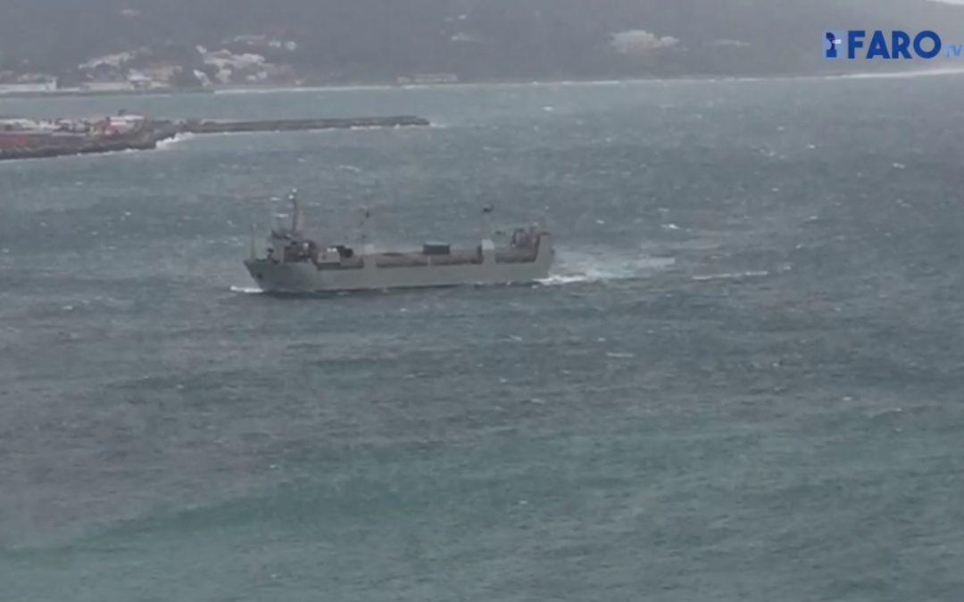El temporal deja aislada a Ceuta
