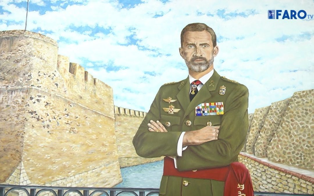 Felipe VI ya preside el Salón Noble del Casino Militar