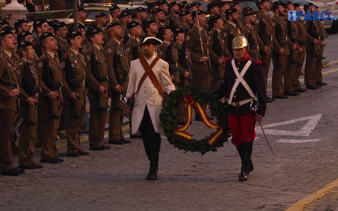 Montesa realizó el Arriado de Bandera