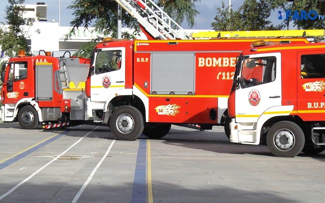 Vivas mantiene que la ficha técnica de los vehículos de Bomberos marcan su capacidad