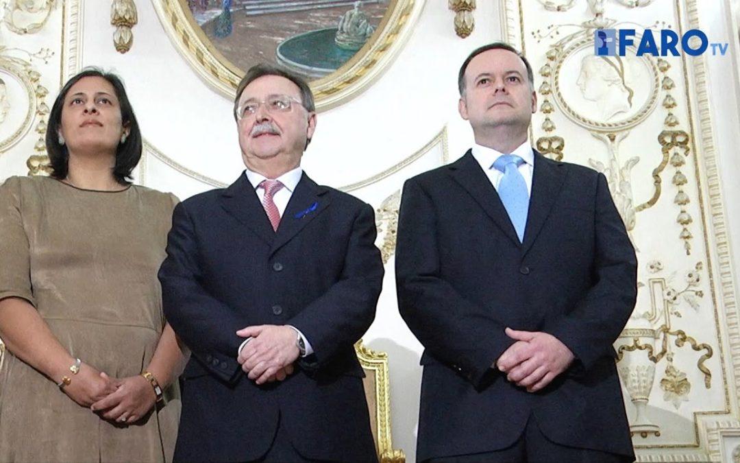 Toman posesión los nuevos consejeros del Gobierno de Vivas