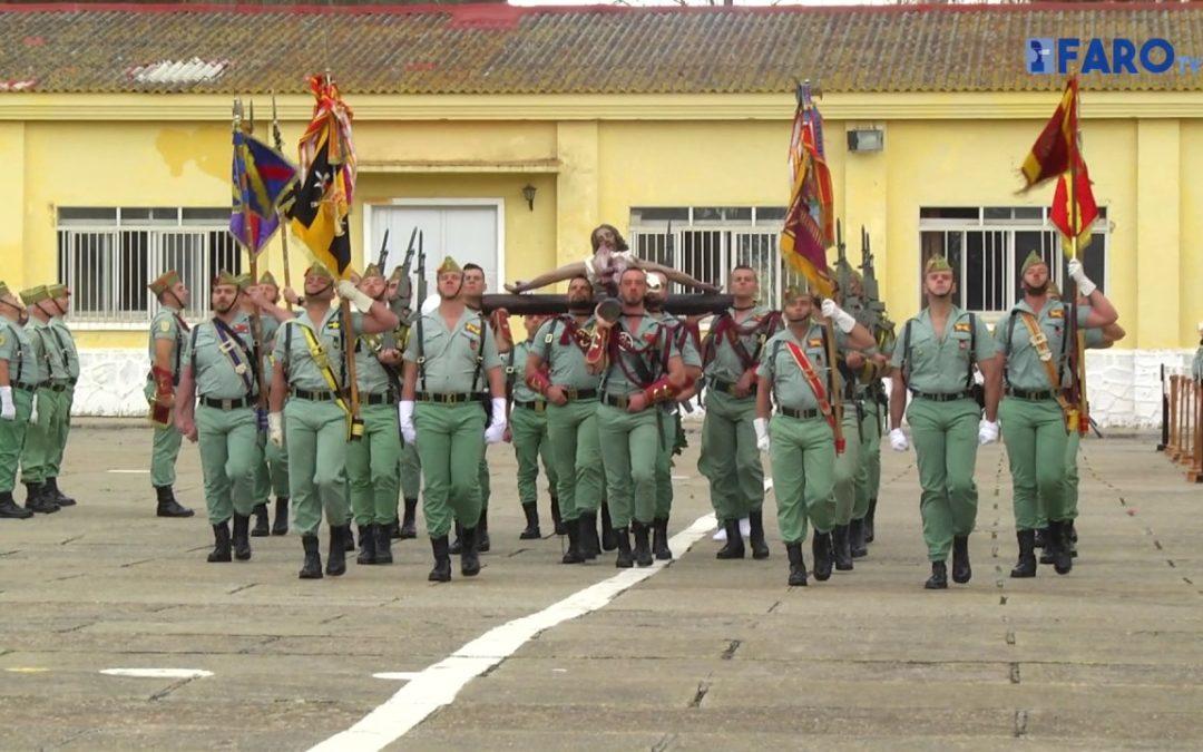 Primer Sábado Legionario en Ceuta del Coronel Félix Abad