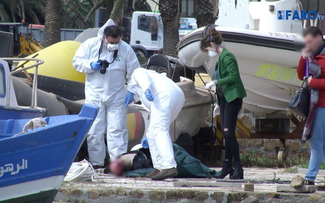 La Guardia Civil recupera el cadáver de un joven argelino en el puerto