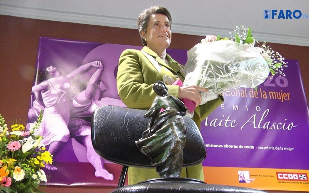 Mercedes Canca muestra su compromiso a seguir luchando por la igualdad
