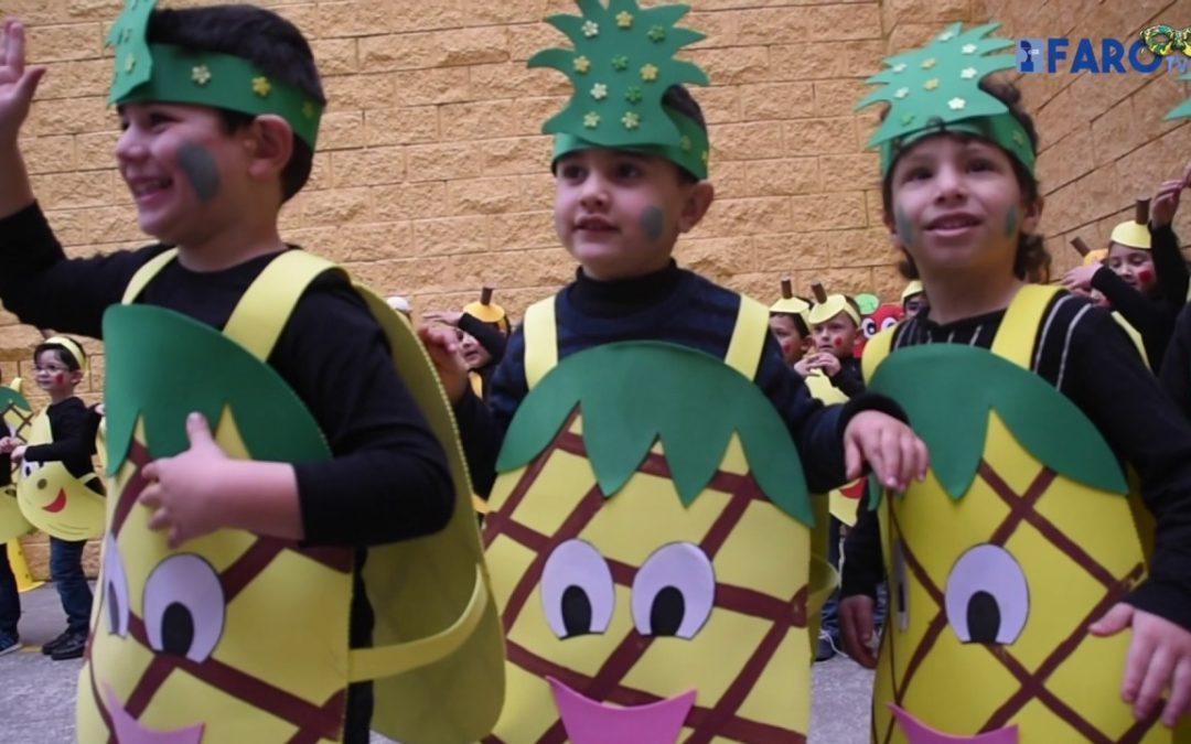 'Macedonia' carnavalera en el 'Beatriz de Silva'