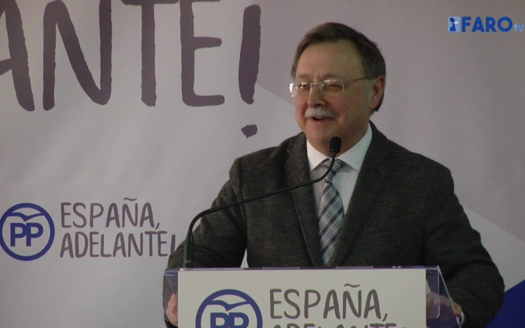 Rafael Hernando clausura el Congreso del PP de Ceuta