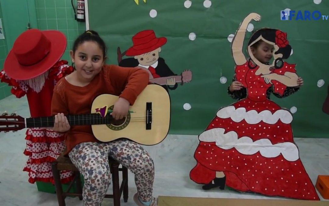 Con 'Ñ' de España en el colegio José Acosta