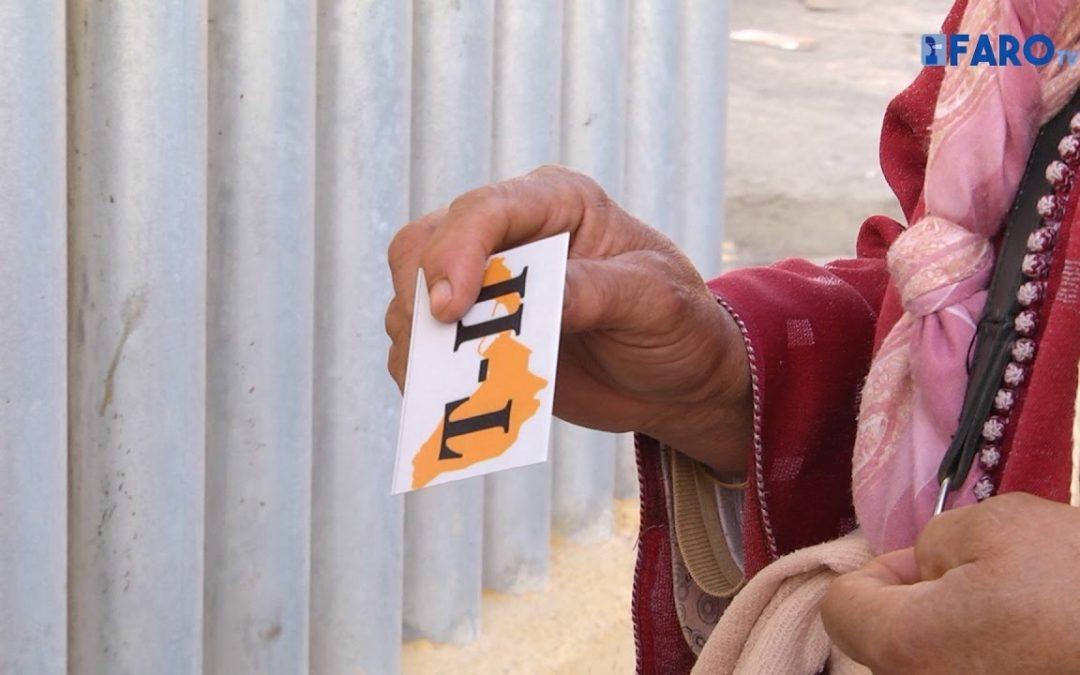 Boicot en el primer reparto de tarjetas a los porteadores