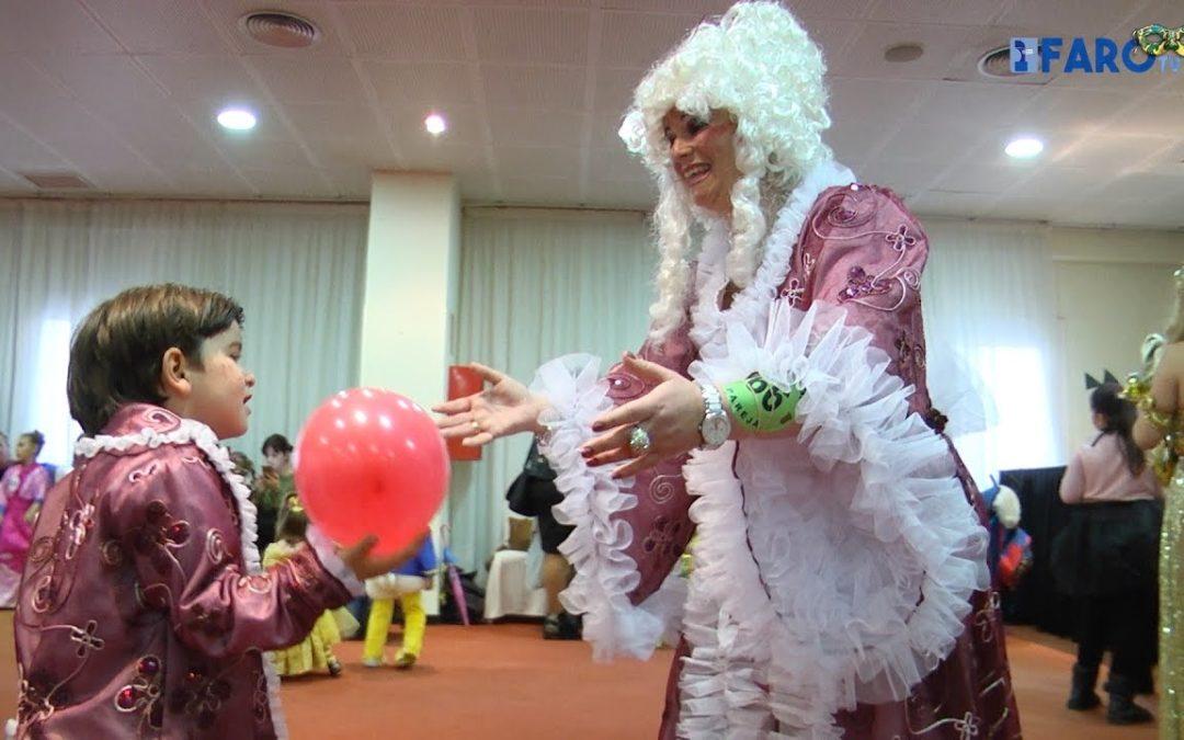 Así se lo pasaron los más pequeños en la Gran Fiesta Infantil de Carnaval