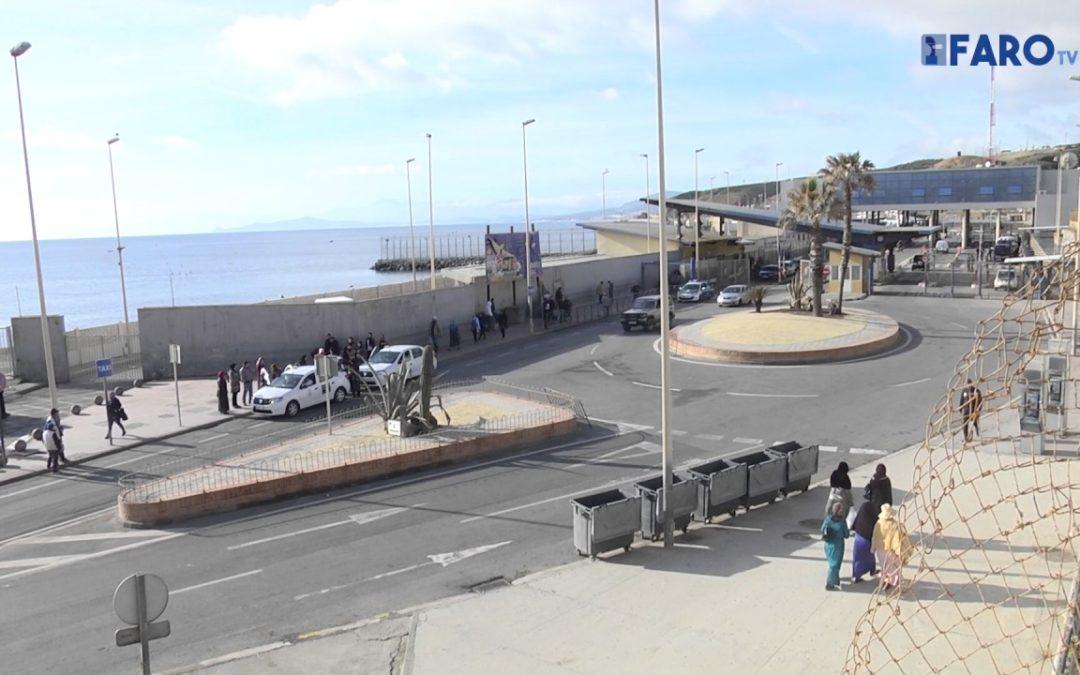 Marruecos retiene a cientos de porteadores ante el cierre del Tarajal II