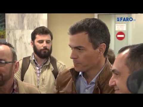 Pedro Sánchez ya se encuentra en Ceuta