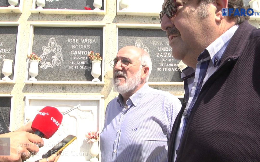 La Tricolor volvió a ondear en Ceuta por el día de la República