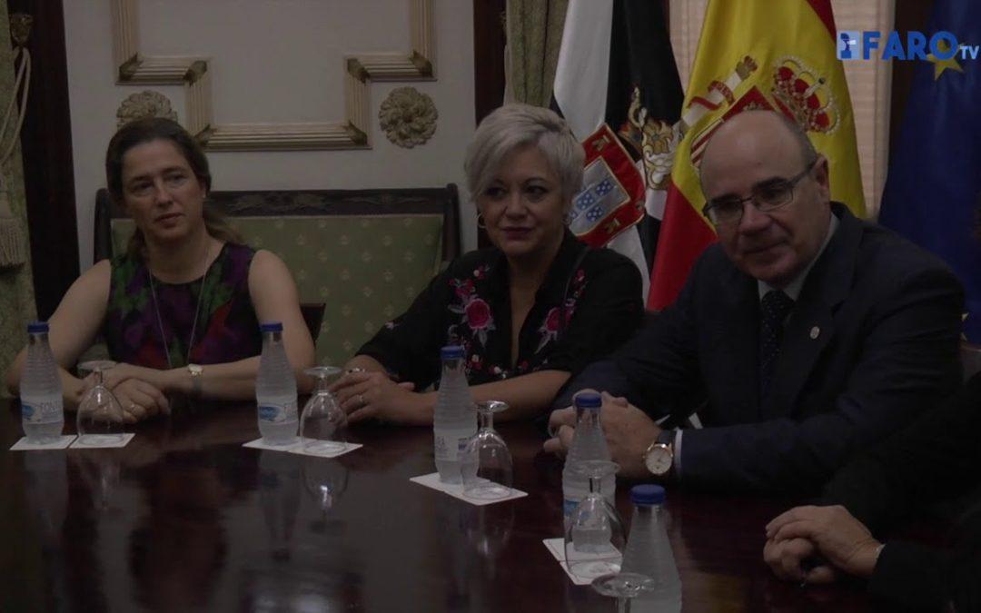 Vivas se reúne con representantes del MECD y de la UGR