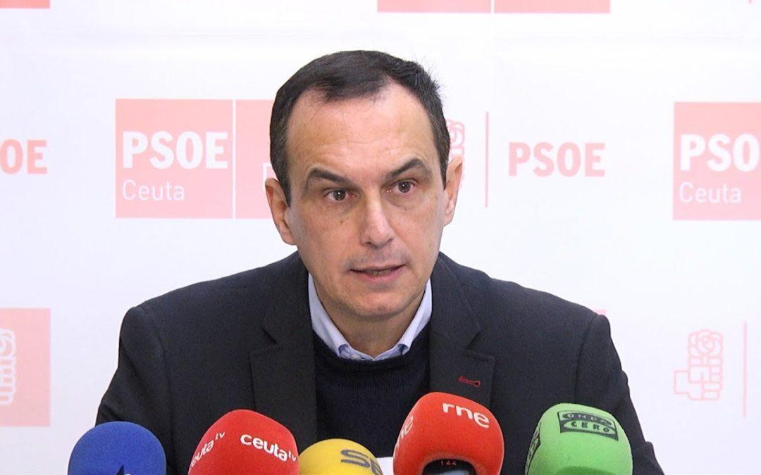 """El PSOE reconoce desconocer la """"receta """" para afrontar el problema en la frontera."""