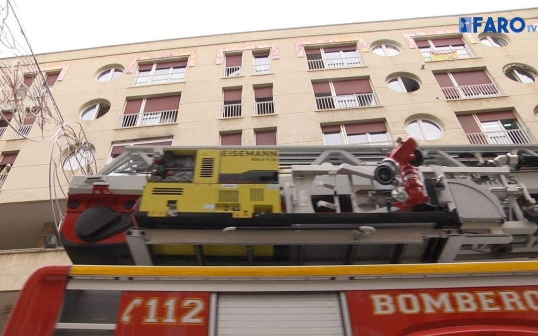 Bomberos acude a una vivienda de la Gran Vía ante el aviso de un incendio