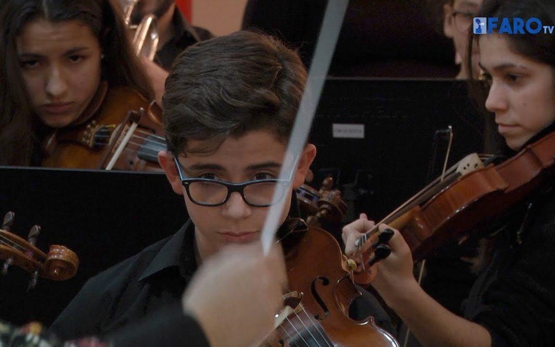 El Conservatorio, bajo la batuta del maestro Bartolomé Pérez