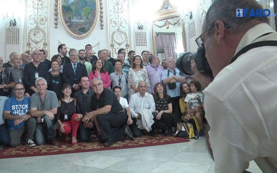 La Ciudad recibe a la Confederación Española de Fotografía