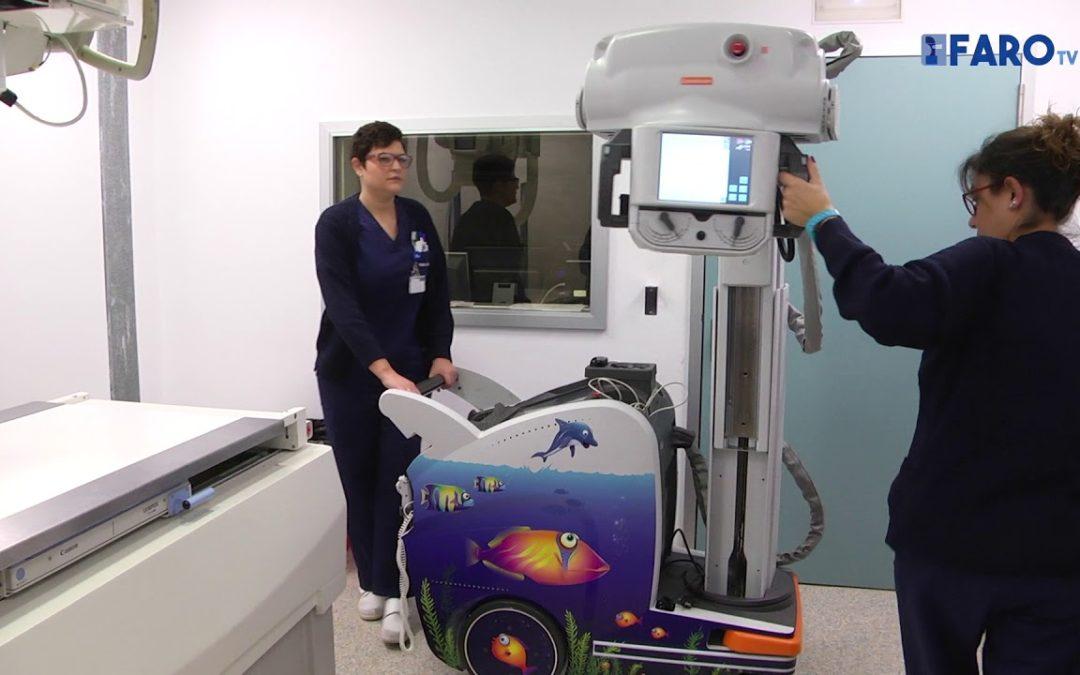 El HUCE cuenta con un aparato de radiología digital portátil