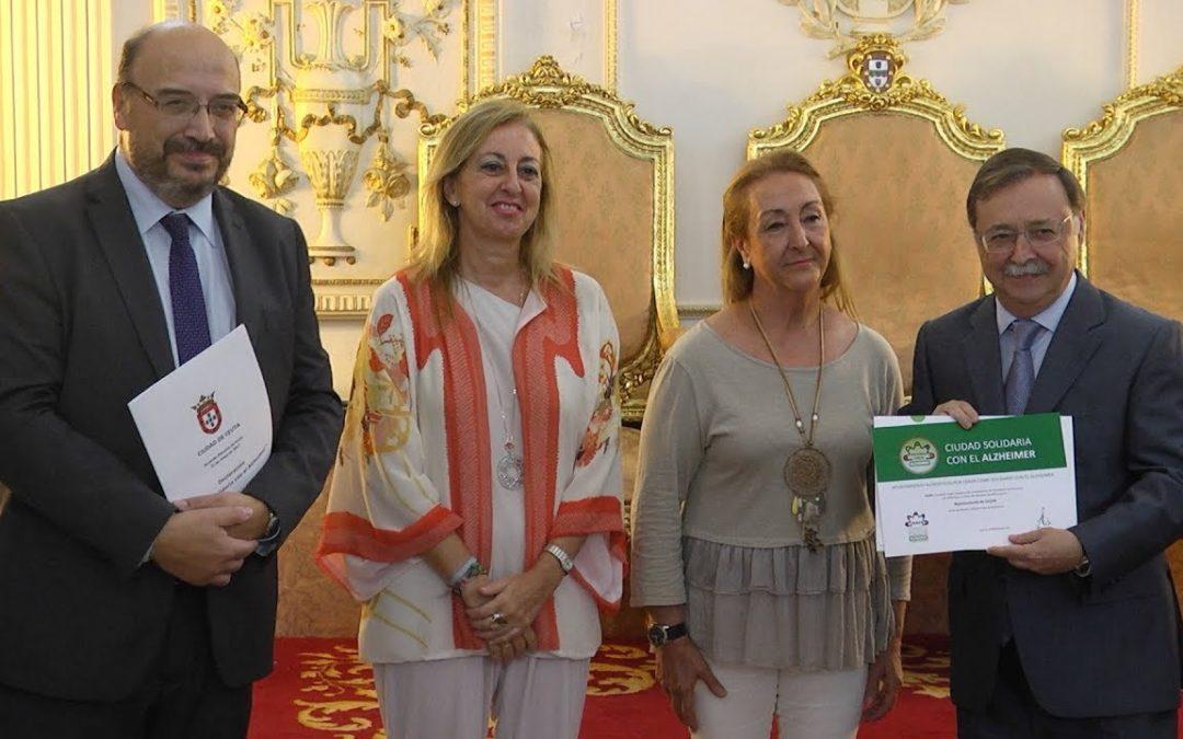 Ceuta se suma a la red de 400 ayuntamientos solidarios con el Alzheimer