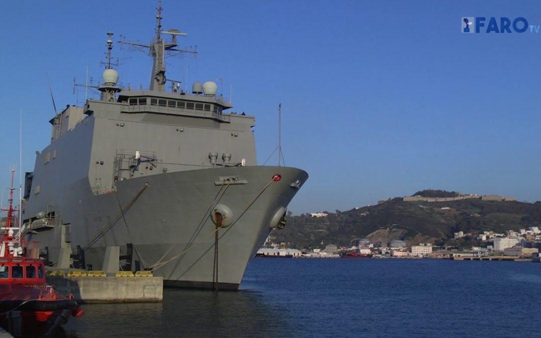 El buque de Asalto Anfibio 'Galicia' visita nuestra ciudad