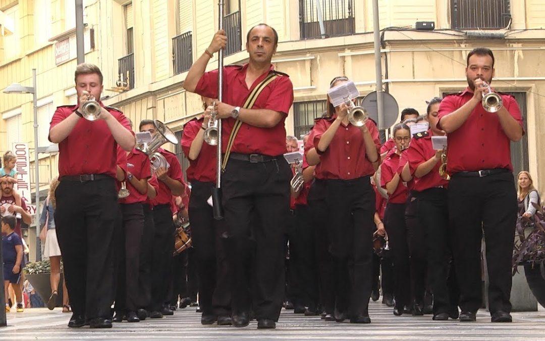 Pasacalles musical en víspera de la procesión del Patrón