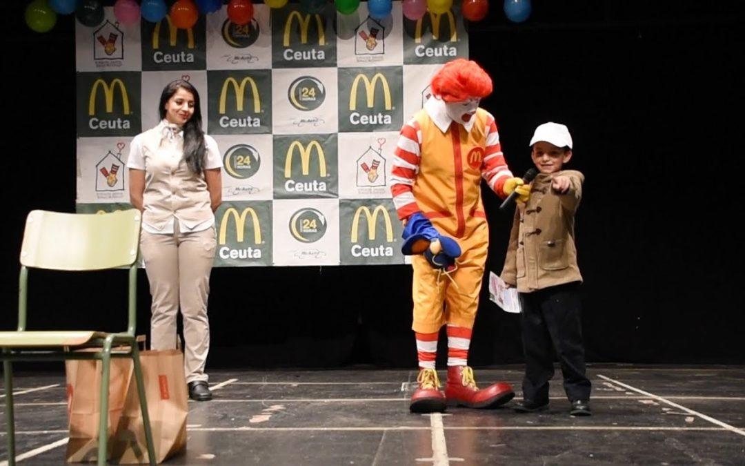 Aprender a reciclar con Ronald McDonald