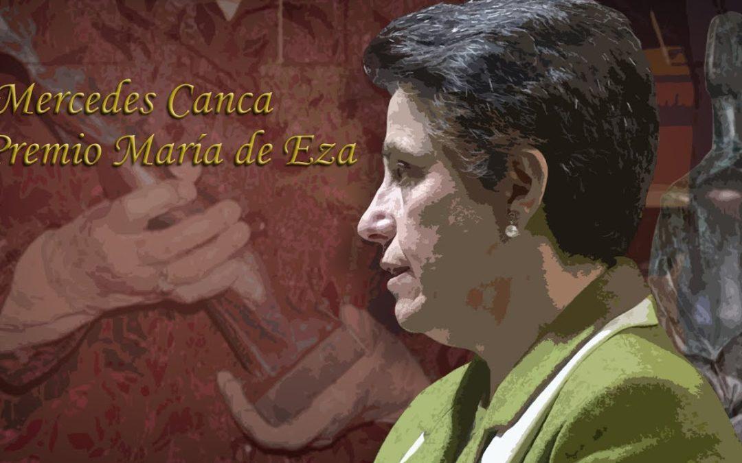 Mercedes Canca, premio María de Eza