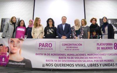 Conforman la 'Plataforma de Mujeres 8 de Marzo' para luchar contra la desigualdad