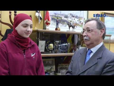 Romaisa Abdeselam se prepara para su audiencia con Felipe VI