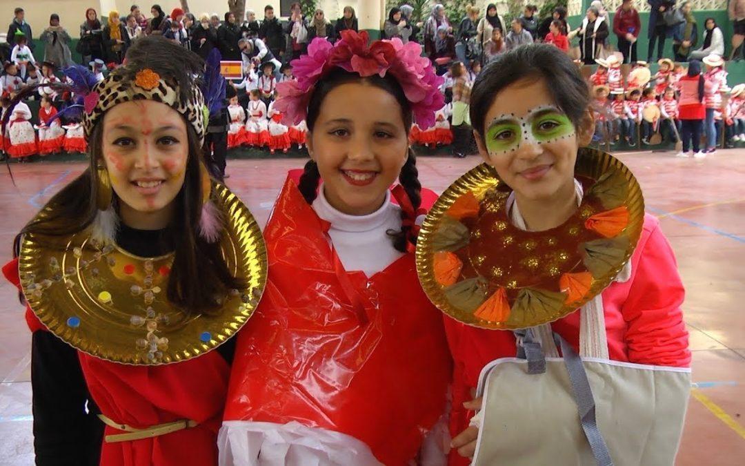 El 'García Lorca' celebra su fiesta de Carnaval y el Día de la Paz