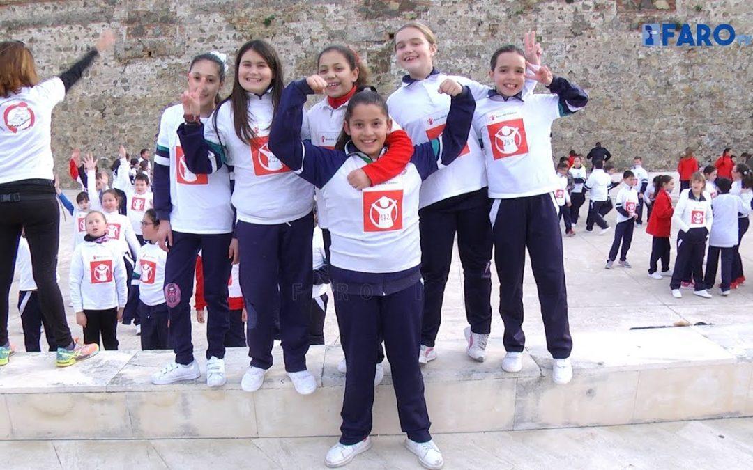 El colegio San Daniel promueve 'Corremos hacia paz'