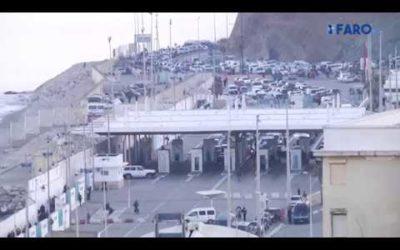 Controles más duros en el lado marroquí de la frontera