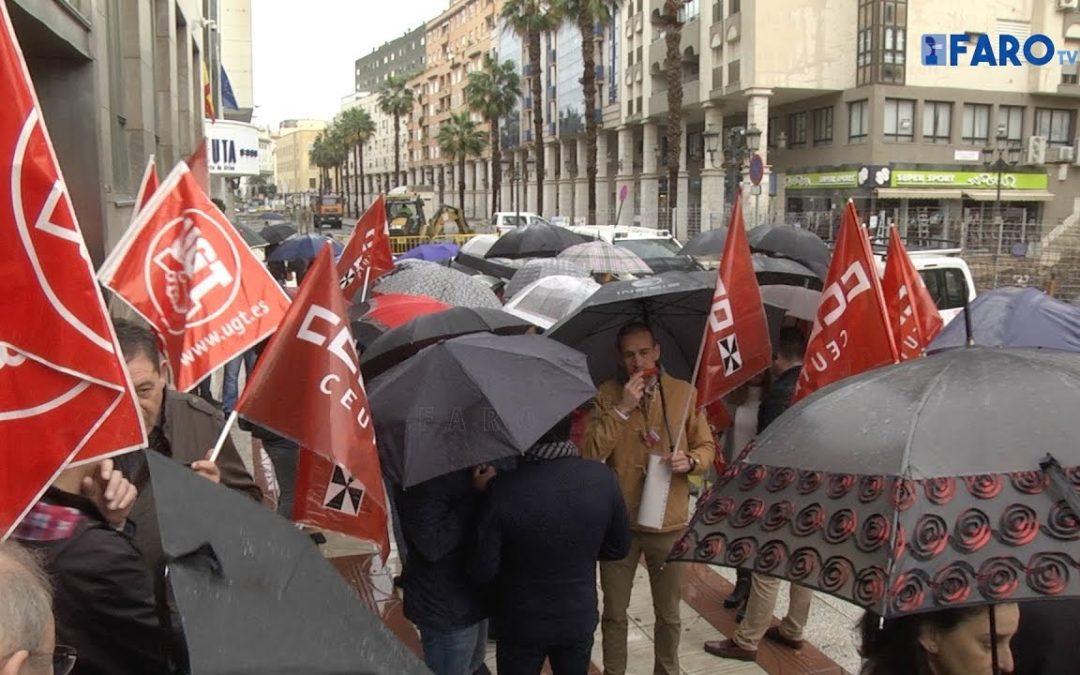 Trabajadores de la Ciudad protestan con una pitada por la RPT