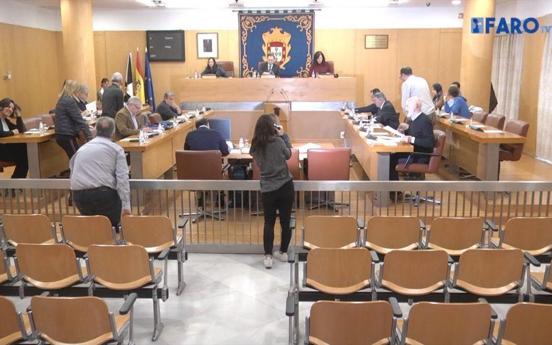 Sesión de control al Gobierno de Ceuta del 20 de marzo de 2018