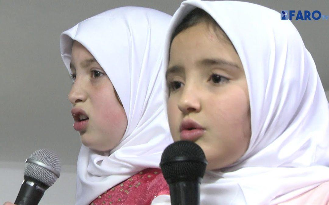 Fiesta de fin de trimestre en la escuela Abu Al Hassan Acharri