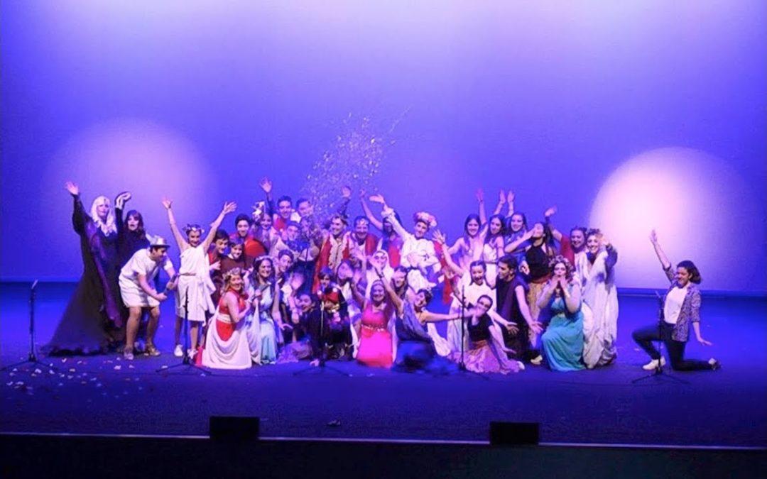 Muestra de Teatro con los colegios Ramón y Cajal y La Inmaculada
