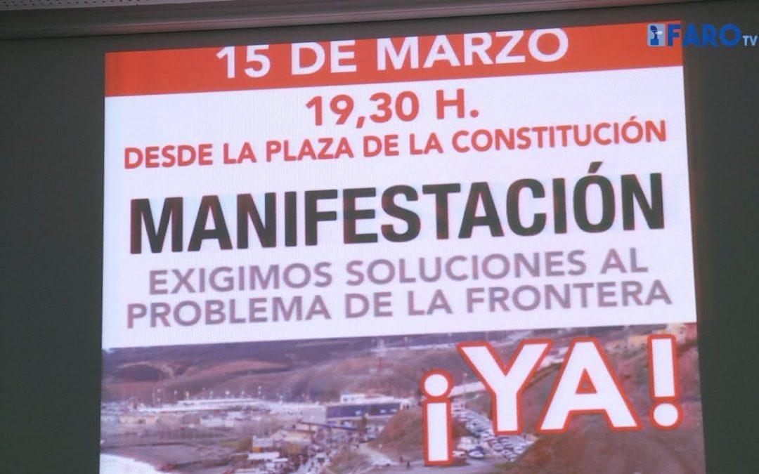 Piden la participación de toda la ciudadanía en la Manifestación del 15M